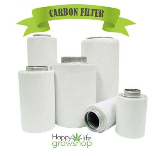 filtro carbone happy life grow shop