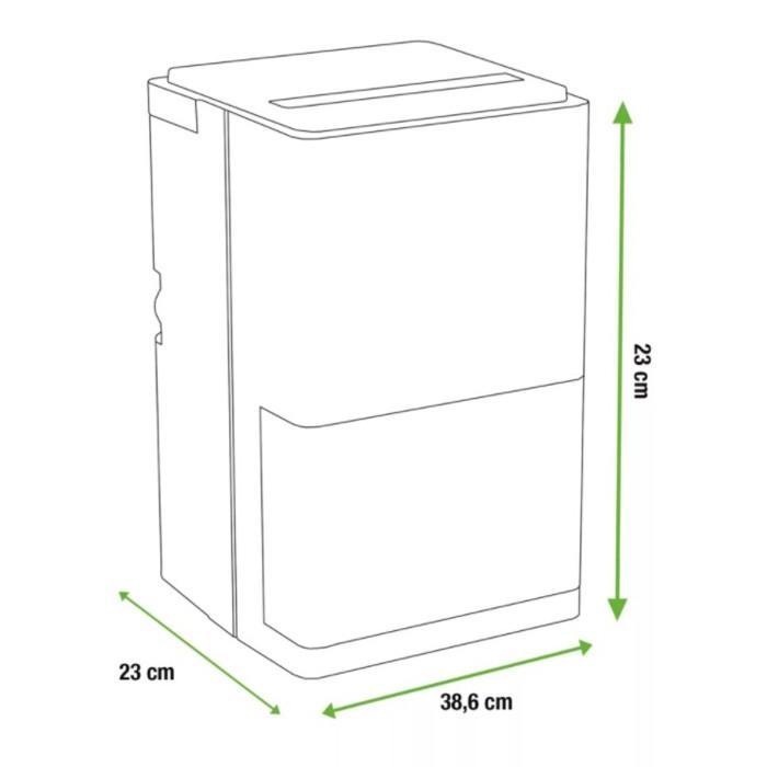 equation wdh 1012eb  DEUMIDIFICATORE per ambienti fino a 28 m². | Vendita Online Grow ...