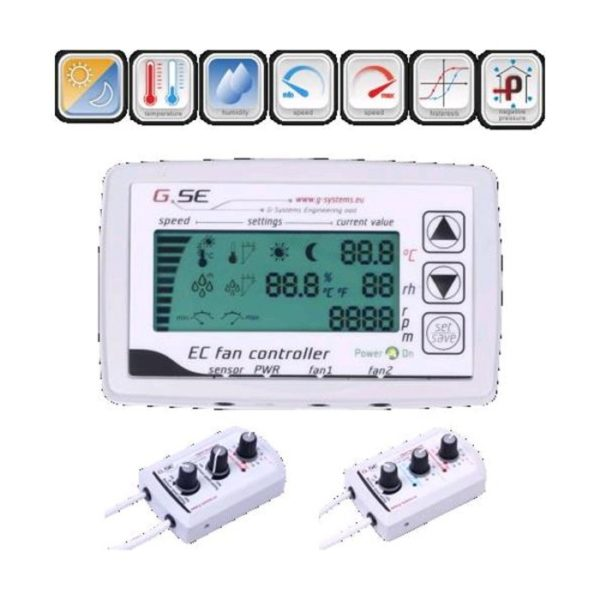 GSE - EC DIGITAL FAN CONTROLLER