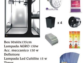 OFFERTA NATALE  kit completo Lodge Secret Jardin 90X60X135cm